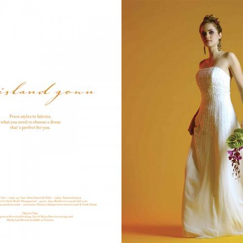 Caribbean Bride Magazine spread