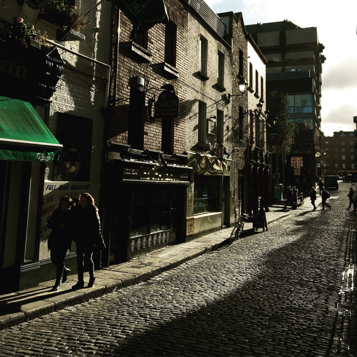 A street in Dublin Ireland