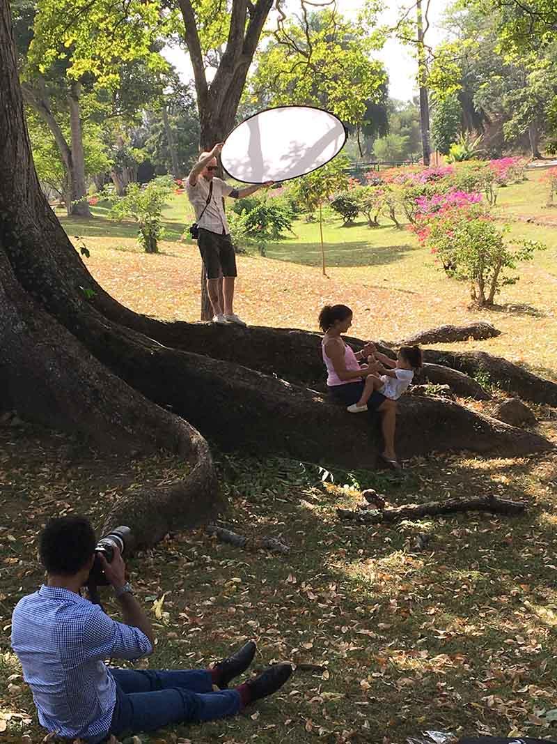 Park shoot in Trinidad
