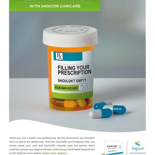 Sagicor pill ad